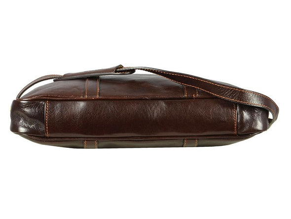 Dark Brown Leather Laptop Bag - The Hobbit for Men and Women by Time Resistance on Jetset Times SHOP