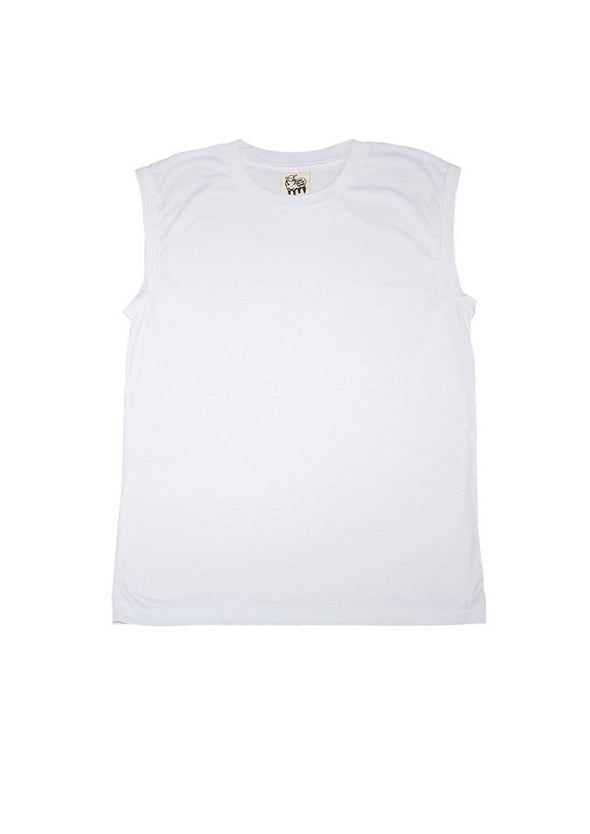 Dip Modal Tank in White for Men and Women by One For The Road on Jetset Times SHOP