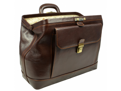 78f8296f1d87 ... Brown Leather Doctor Bag - Hamlet for Men and Women by Time Resistance  on Jetset Times ...