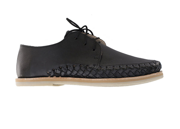 Casual Leather Shoes - Sayulita for Men and Women in Black by Tapatía on Jetset Times SHOP