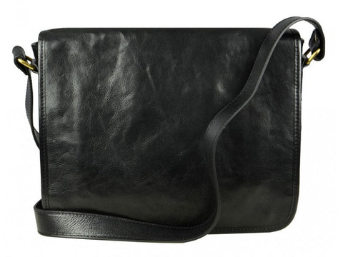 Leather Messenger Bag for Men and Women - The Stranger in Various Colors