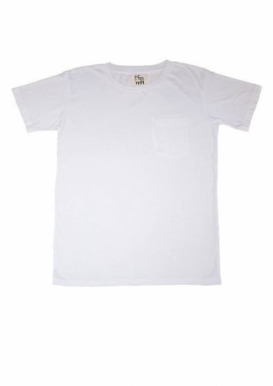 Modal T-Shirt in White for Men and Women by One For The Road on Jetset Times SHOP
