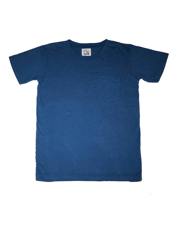 Modal T-Shirt in Indigo for Men and Women by One For The Road on Jetset Times SHOP