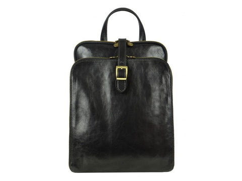 Clarissa Leather Backpack