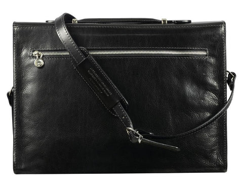Moonheart Leather Briefcase