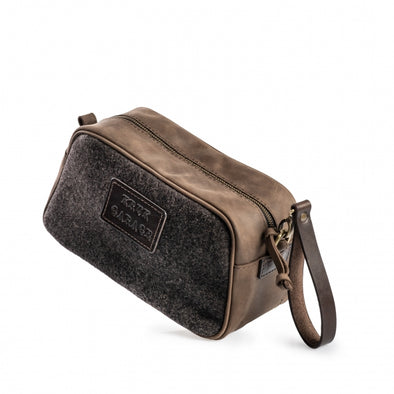 Wool Felt Dopp Kit