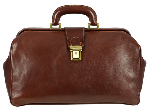 Leather Doctor Bag for Men and Women - The Pursuit of Love in Various Colors