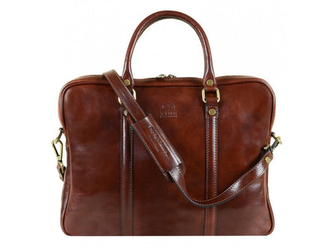 Leather Laptop Bag for Men and Women - The Hobbit in Various Colors