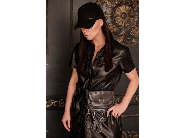Leather Fanny Pack For Women - Rebecca