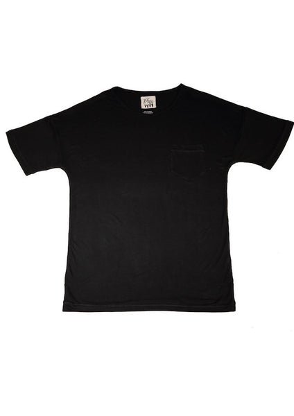 Bamboo T-Shirt for Men and Women - Obsidian Black