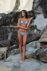 Women's Blueberry Bikini Bottom - St. Tropez by The Hessian Collection on Jetset Times SHOP