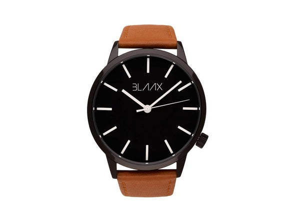 Brown Leather Watch for Men and Women - Baby Bondi by BLAAX on Jetset Times SHOP