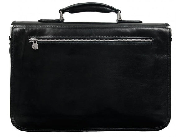 Leather Briefcase - Illusions