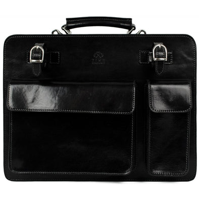 Leather Satchel Work Bag - The Prophet
