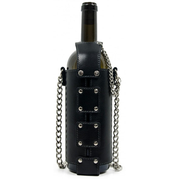 Leather Wine Tote - Saving Grapes
