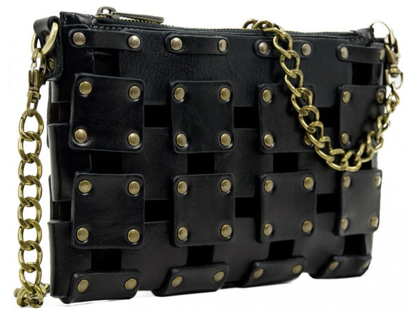 Women's Leather Clutch Purse - Gone Girl