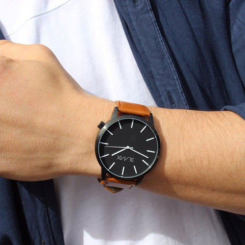 Minimalist Watch For Men & Women - Bondi Tan