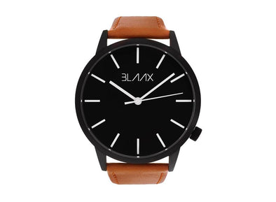 Brown Leather Watch for Men and Women - Bondi Tan by BLAAX on Jetset Times SHOP