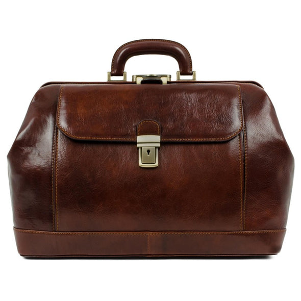 Large Leather Doctor Bag - Hamlet