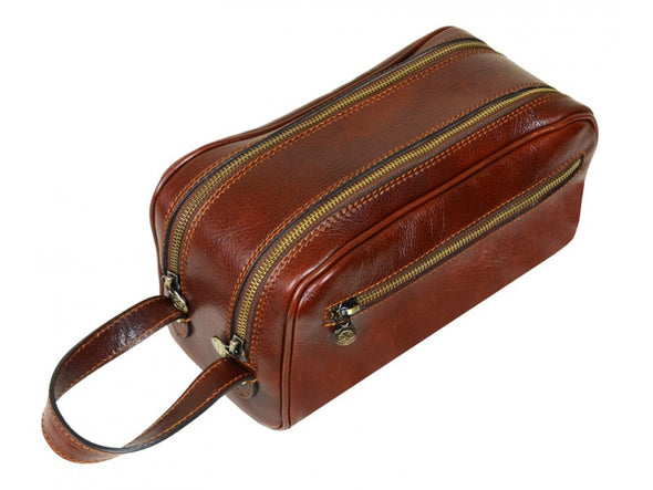 Leather Cosmetic Bag - All the Kings Men