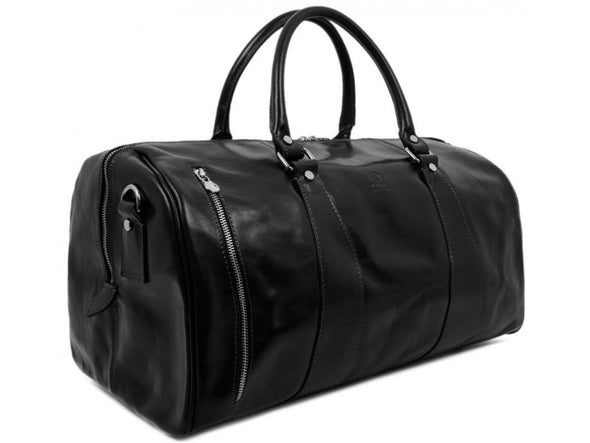 Leather Duffel Bag for Men and Women - Wise Children