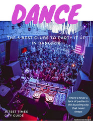 Bangkok DANCE City Guide Chapter for Offline PDF Download Use by Jetset Times SHOP