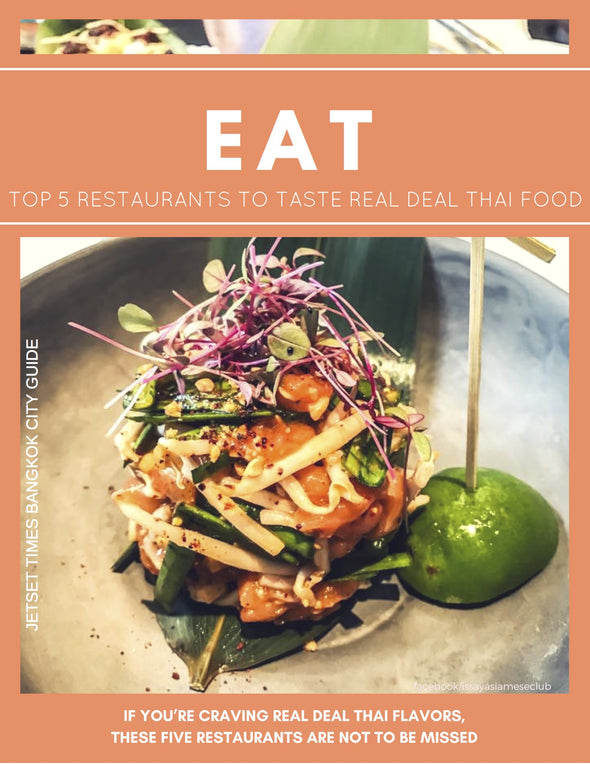 Bangkok EAT City Guide Chapter for Offline PDF Download Use by Jetset Times SHOP