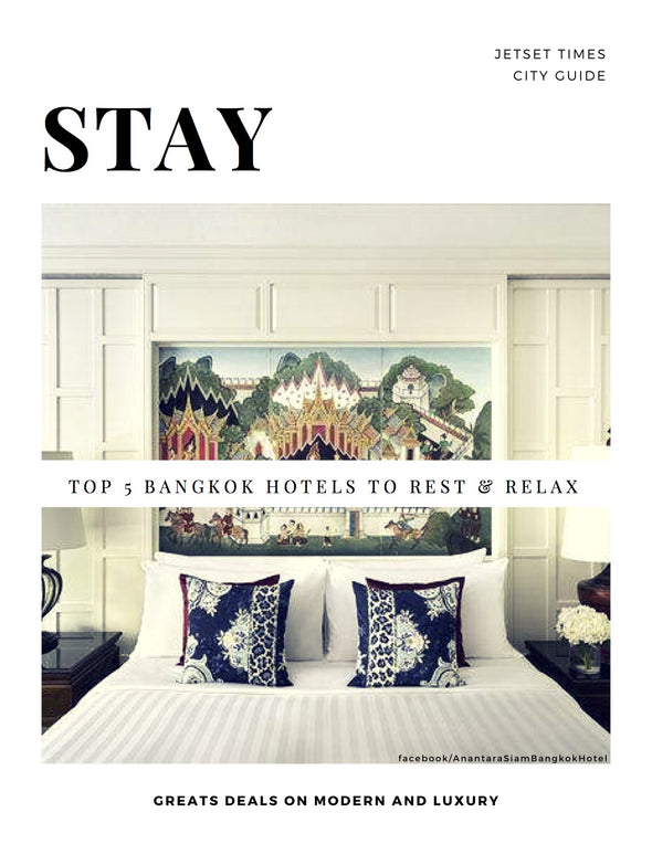 Bangkok STAY City Guide Chapter for Offline PDF Download Use by Jetset Times SHOP