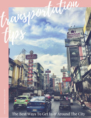 Bangkok Transportation Tips City Guide Chapter for Offline PDF Download Use by Jetset Times SHOP