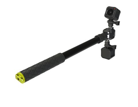 "Boost Plus - 17.5""-40"" Telescoping Pole for GoPro Camera"