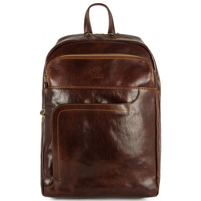 Large Leather Backpack - L.A. Confidential