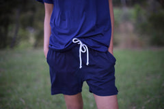 Indigo Shorts for Men and Women by One For The Road on Jetset Times SHOP