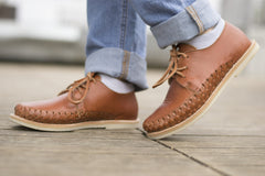 Casual Leather Shoes - Sayulita for Men and Women in Brown by TapatÌ_a on Jetset Times SHOP