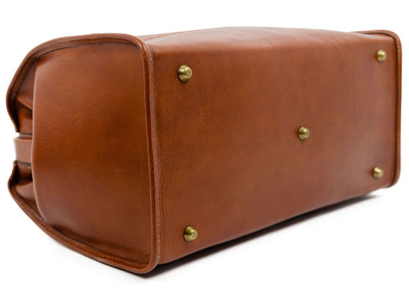 Small Leather Doctor Bag - David Copperfield