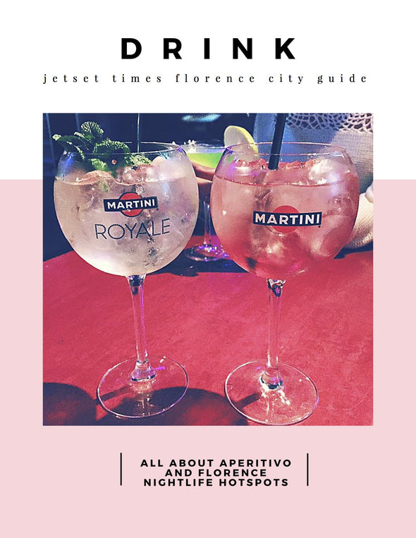 Florence City Guide eBook - Chapter 2 Florence DRINK by Jetset Times