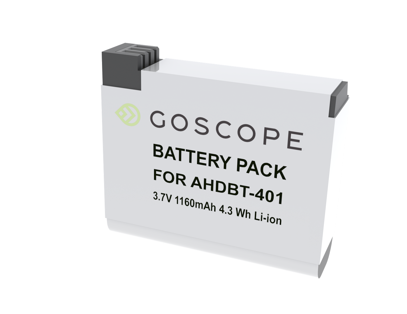 GoScope Dual Battery Charger for GoPro HERO4 - Includes Free Battery by GoScope on Jetset Times SHOP