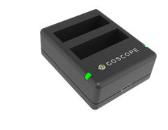 GoScope® Dual Battery Charger for GoPro® HERO4 - Includes Free Battery by GoScope on Jetset Times SHOP