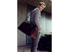 Brown Leather Duffel Bag - The Lord of the Rings for Men and Women by Time Resistance on Jetset Times SHOP