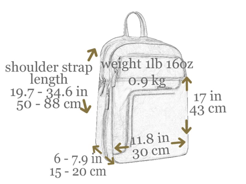 Leather Backpack - L.A. Confidential for Men and Women by Time Resistance on Jetset Times SHOP