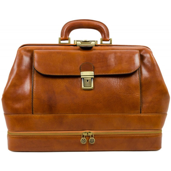 Large Leather Doctor Bag - The Master and Margarita