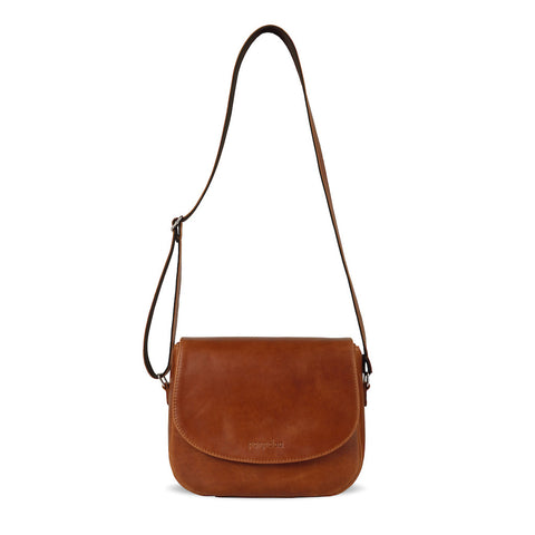 Brown Leather Camera Bag for Men & Women - Geneva