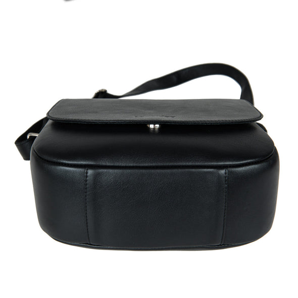 Black Leather Camera Bag - Geneva for Men and Women by POMPIDOO on Jetset Times SHOP