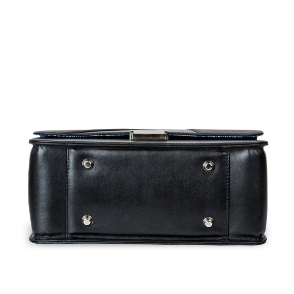 Women's Black Leather Camera Bag - Miami by POMPIDOO on Jetset Times SHOP