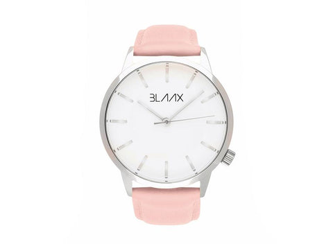 Women's Pink Leather Watch - Paris