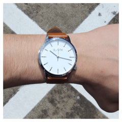 Miami Tan - Minimalist Watch for Men and Women by BLAAX on Jetset Times SHOP