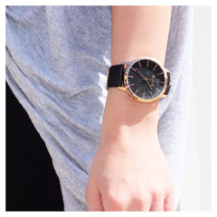 Midnight Rose - Minimalist Watch for Men and Women by BLAAX on Jetset Times SHOP