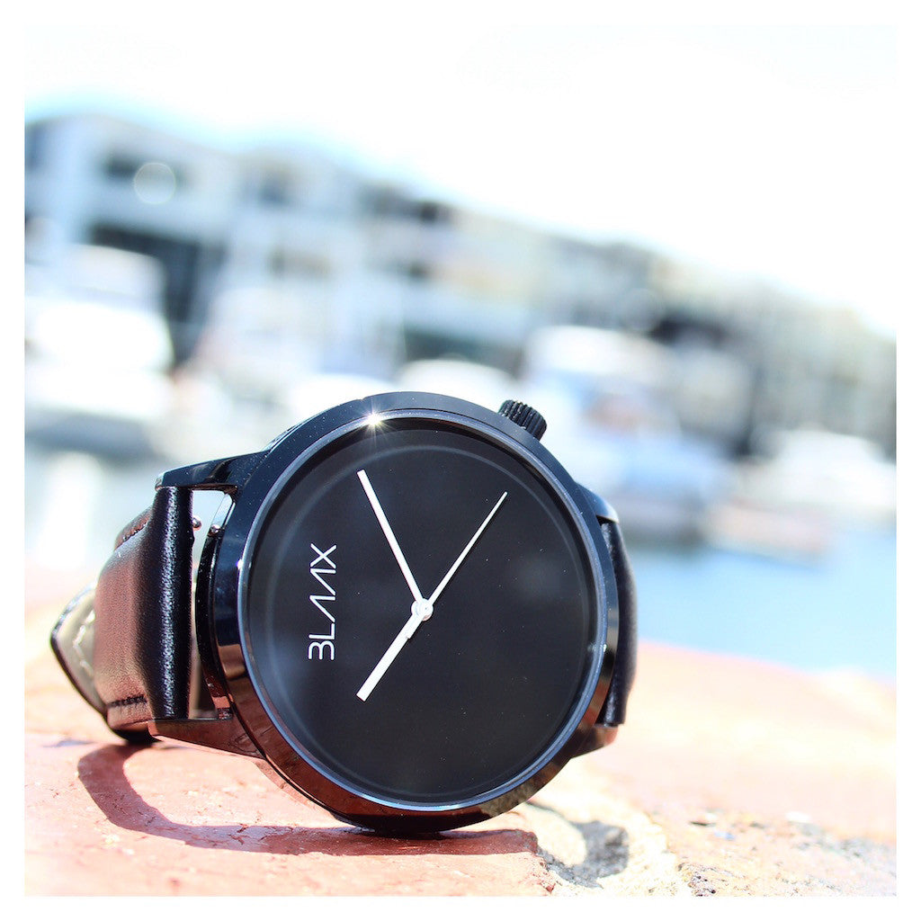 Shadow - Minimalist Watch for Men and Women by BLAAX on Jetset Times SHOP