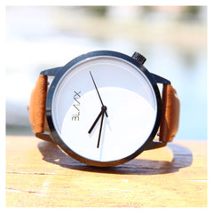 Brown Leather Watch for Men and Women - Sonny by BLAAX on Jetset Times SHOP
