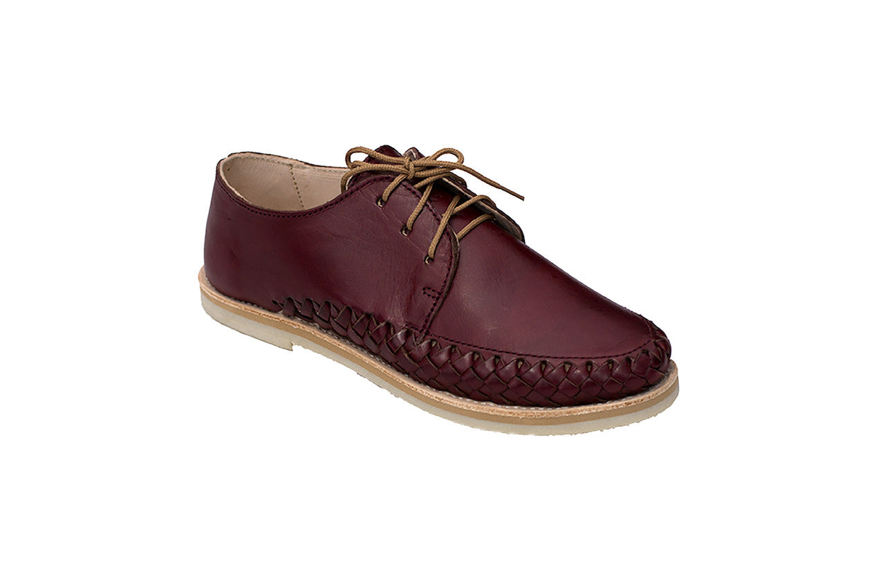Casual Leather Shoes - Sayulita for Men and Women in Bordeaux by TapatÌ_a on Jetset Times SHOP