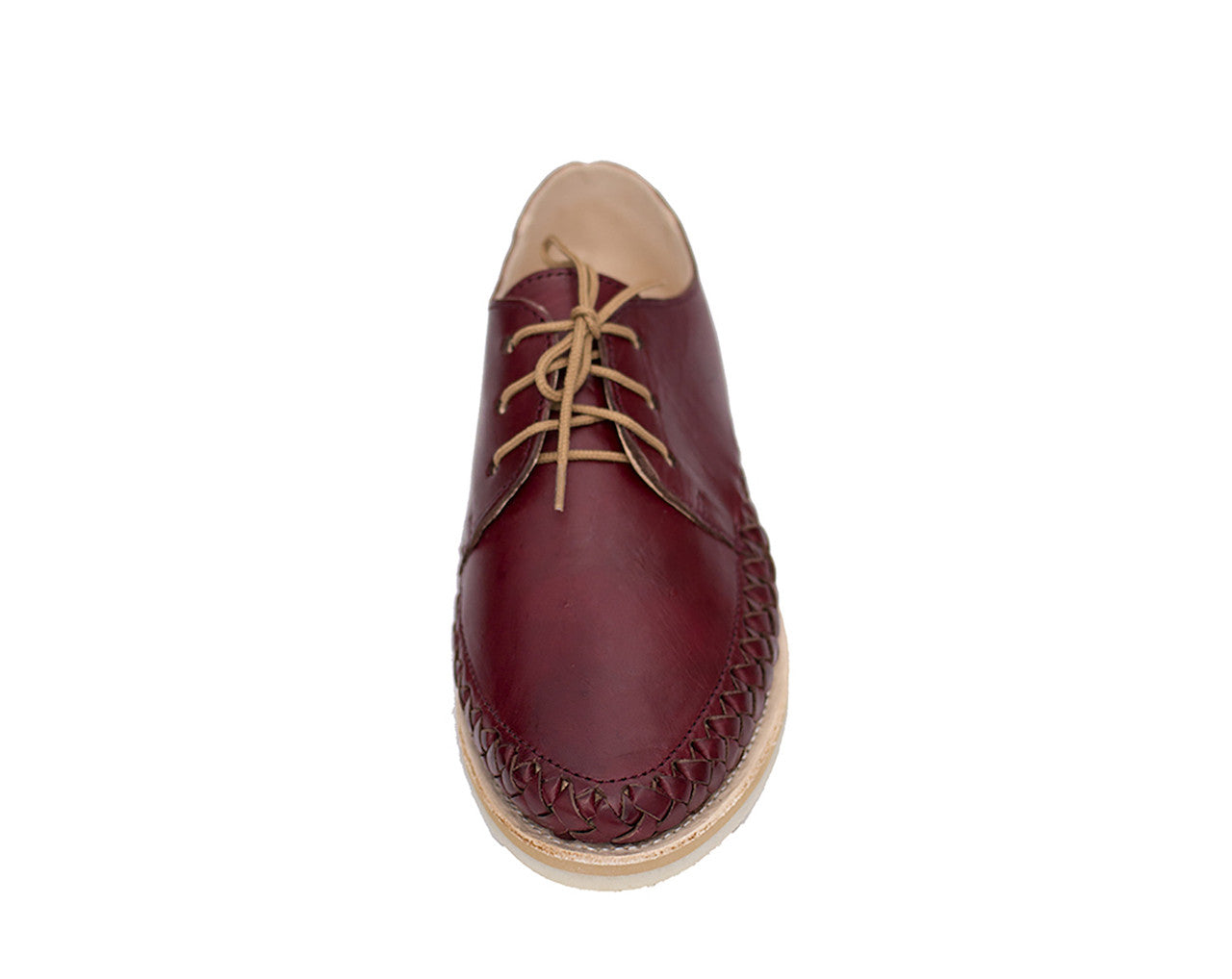 Casual Leather Shoes - Sayulita for Men and Women in Bordeaux by Tapatía on Jetset Times SHOP